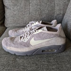 Nike air Max 90 Flyknit 2.0 atmosphere grey sz 13